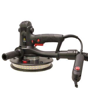 Шлифмашинка SCHTAER 700G, 180 ММ., с подсветкой и мешком для пыли